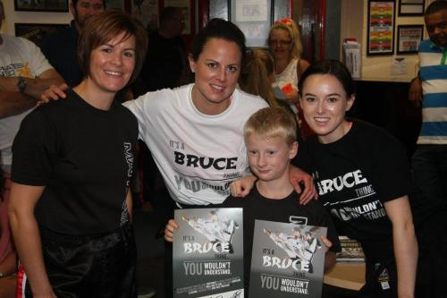 Chloe and Grace Bruce Seminar