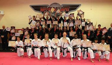 Martial Art World Black Belt Graduation